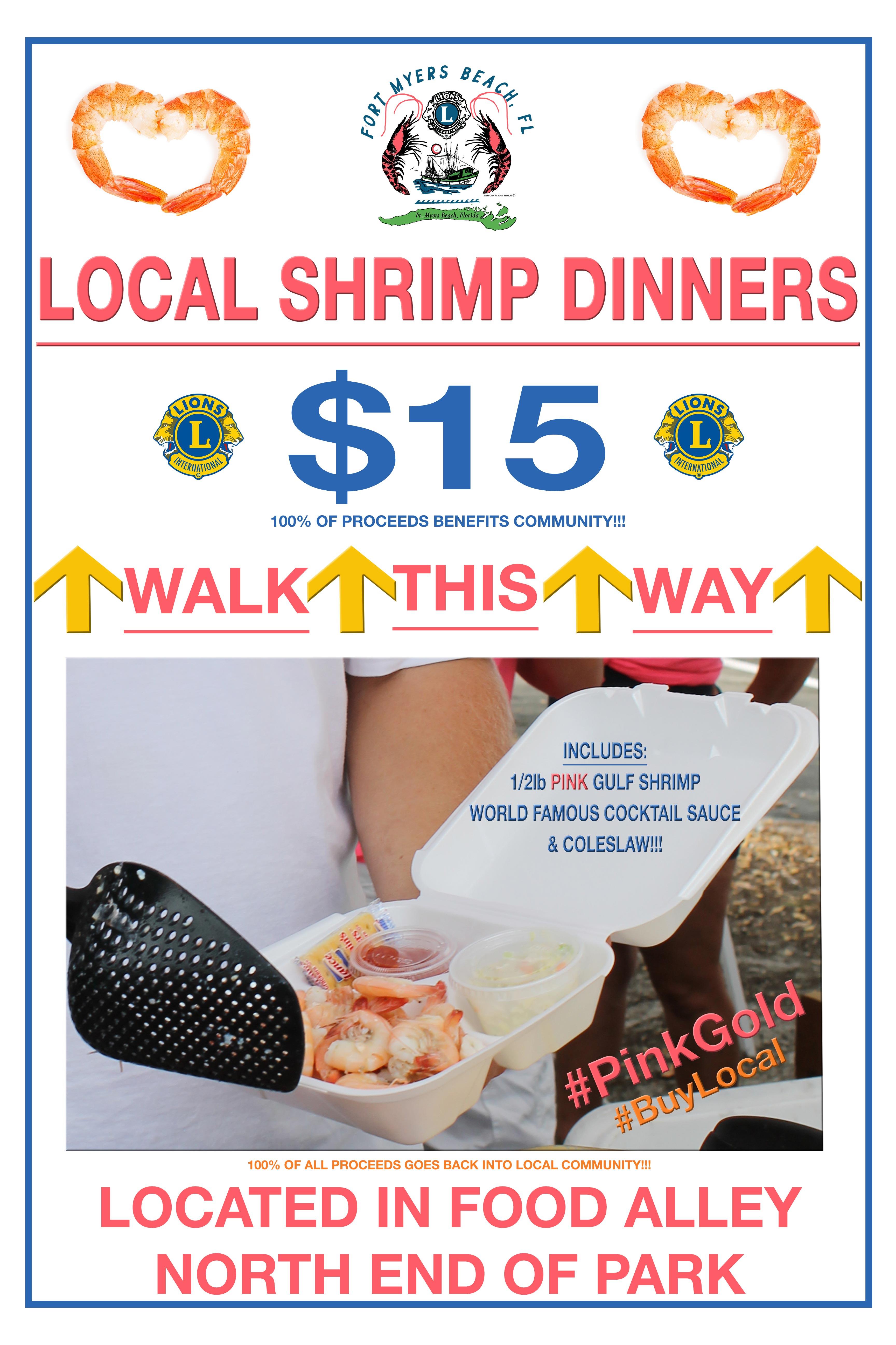 shrimp festival shrimp dinners